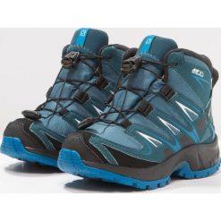 Salomon XA PRO 3D MID CSWP  Buty trekkingowe mallard blue/reflecting pond/mykonos blue. Niebieskie buty trekkingowe chłopięce marki CMP, z materiału. Za 349,00 zł.
