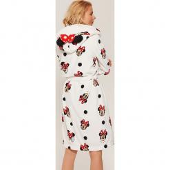 Szlafrok Minnie Mouse - Biały. Białe szlafroki damskie marki House, z motywem z bajki. Za 99,99 zł.