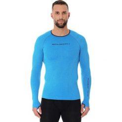 Koszulki sportowe męskie: Brubeck Koszulka rowerowa 3D Bike PRO niebieska r.  M  (LS13010)