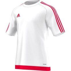 T-shirty męskie: Adidas Koszulka piłkarska męska Estro 15 biało-czerwona r. L (S16166)