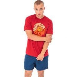 Koszulki sportowe męskie: Almost Koszulka męska Stink Hole Czerwona r. S