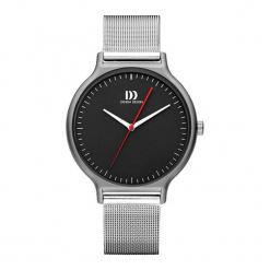 """Zegarek """"IQ63Q1220"""" w kolorze srebrno-czarnym. Czarne, analogowe zegarki męskie NIXON & ESPRIT, ze stali. W wyprzedaży za 449,95 zł."""