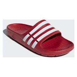 Chodaki męskie: Adidas Klapki męskie Duramo czerwone r. 47 (G15886)