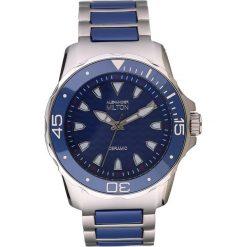 """Zegarki męskie: Zegarek kwarcowy """"Aristos"""" w kolorze srebrno-niebieskim"""