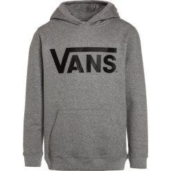 Vans CLASSIC HOODIE BOYS Bluza z kapturem concrete heather/black. Szare bluzy chłopięce rozpinane marki Vans, z bawełny, z kapturem. Za 219,00 zł.