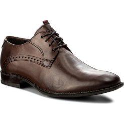 Półbuty LASOCKI FOR MEN - MB-FADO-02 Brązowy. Brązowe buty wizytowe męskie Lasocki For Men, ze skóry. Za 179,99 zł.