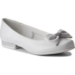 Baleriny MAGIC LADY - CS090501-1 Biały. Białe baleriny dziewczęce Magic Lady, ze skóry ekologicznej. Za 59,99 zł.