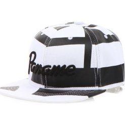 Czapka męska snapback biała (hx0164). Białe czapki z daszkiem męskie marki Dstreet, z haftami, eleganckie. Za 69,99 zł.