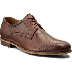 Półbuty SERGIO BARDI - Castenaso SS127336918AD 104. Brązowe buty wizytowe męskie Sergio Bardi, z materiału. W wyprzedaży za 199,00 zł.