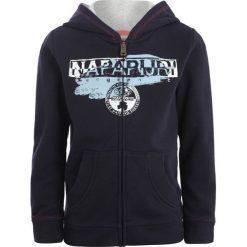 Napapijri BIDO  Bluza rozpinana blue marine. Szare bluzy dziewczęce rozpinane marki Napapijri, l, z materiału, z kapturem. Za 359,00 zł.