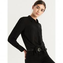 Koszula z koronką - Czarny. Czarne koszule damskie marki Sinsay, l, w koronkowe wzory, z koronki. Za 59,99 zł.