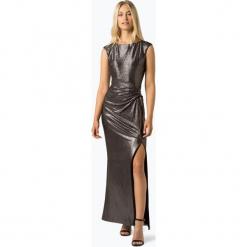 LAUREN RALPH LAUREN - Damska sukienka wieczorowa – Ilianne, niebieski. Czarne sukienki balowe marki Lauren Ralph Lauren, uniwersalny, z kontrastowym kołnierzykiem. Za 799,95 zł.