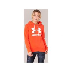 Bluzy Under Armour  FAVORITE FLEECE WORDMARK POPOVER. Brązowe bluzy damskie Under Armour, xs. Za 199,99 zł.