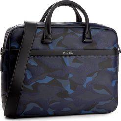 Plecaki męskie: Torba na laptopa CALVIN KLEIN BLACK LABEL - Elias Slim Laptop Bag K50K502271 910