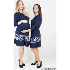 Sukienka ciążowa i do karmienia Blue Blossom. Niebieskie sukienki ciążowe marki Pakamera, wizytowe. Za 199,00 zł.