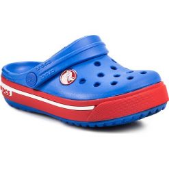 Klapki CROCS - Crocband II.5 Clog Kids 12837 Varsity Blue/Red. Niebieskie klapki chłopięce marki Crocs, z tworzywa sztucznego. Za 139,00 zł.