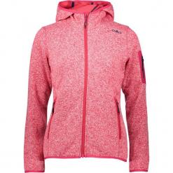 Kurtka polarowa w kolorze czerwonym. Czerwone kurtki damskie marki CMP Women, z dzianiny. W wyprzedaży za 172,95 zł.