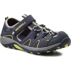 Sandały MERRELL - H2O Hiker MY54859 Navy/Lime. Niebieskie sandały męskie skórzane marki Merrell. W wyprzedaży za 159,00 zł.
