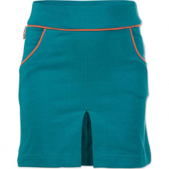 """Spódnica """"Body Parts"""" w kolorze turkusowym. Niebieskie spódniczki dziewczęce 4FunkyFlavours Kids, mini. W wyprzedaży za 82,95 zł."""