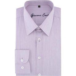 Koszula MARCO 16-05-03-K. Czerwone koszule męskie na spinki Giacomo Conti, m, z tkaniny, z długim rękawem. Za 169,00 zł.