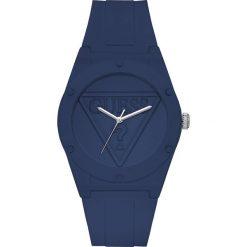 Guess Jeans - Zegarek W0979L4. Niebieskie zegarki damskie marki Guess Jeans, z obniżonym stanem. Za 399,90 zł.