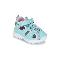 Sandały Dziecko  Kangaroos  ROCK LITE II. Niebieskie sandały dziewczęce KangaROOS. Za 103,20 zł.