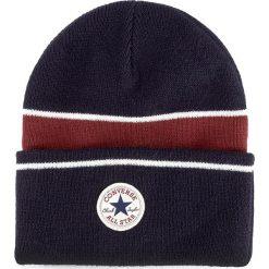 Czapka CONVERSE - 561417 Navy. Czarne czapki damskie marki Converse, z materiału. Za 89,00 zł.