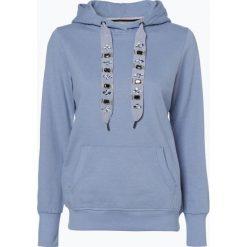 Bluzy damskie: Marie Lund - Damska bluza nierozpinana, niebieski
