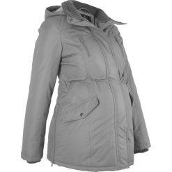 Kurtka ciążowa zimowa bonprix dymny szary. Szare kurtki ciążowe bonprix, na zimę, z polaru. Za 269,99 zł.