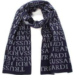 Szal TRUSSARDI JEANS - Scarf Logo Mixed 57Z00101 U611. Niebieskie szaliki damskie Trussardi Jeans, z jeansu. Za 209,00 zł.