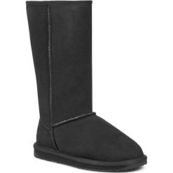 Buty EMU AUSTRALIA - Stinger Hi W10001 Czarny. Czarne buty zimowe damskie EMU Australia, z gumy. Za 859,00 zł.