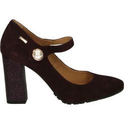 Czółenka - 2716 AMAR-VIN. Brązowe buty ślubne damskie Venezia, ze skóry. Za 199,00 zł.