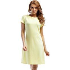 Sukienki hiszpanki: Sukienka w kolorze żółtym