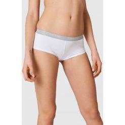 Calvin Klein Bokserki One Cotton - White. Białe bokserki damskie marki Calvin Klein, w paski. Za 113,00 zł.