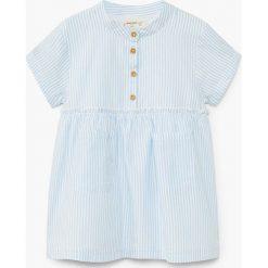 Sukienki dziewczęce z falbanami: Mango Kids - Sukienka dziecięca Clavia 80-104 cm