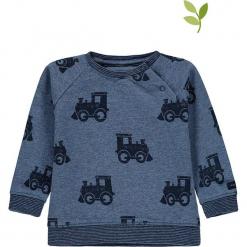 Bluza w kolorze niebieskim. Niebieskie bluzy chłopięce marki bellybutton, z bawełny. W wyprzedaży za 49,95 zł.