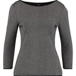 Swetry klasyczne damskie: comma Sweter grey/black