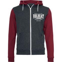Volbeat Louder And Faster Bluza z kapturem rozpinana czerwony/szary. Czerwone bluzy męskie rozpinane marki KALENJI, m, z elastanu, z długim rękawem, długie. Za 224,90 zł.