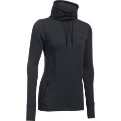 Bluzy sportowe damskie: Under Armour Bluza damska Featherweight Fleece Slouchy czarny r.S (1293020-002)