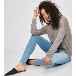 Sublevel - Sweter. Szare swetry klasyczne damskie marki Sublevel, l, z bawełny, z okrągłym kołnierzem. W wyprzedaży za 49,90 zł.