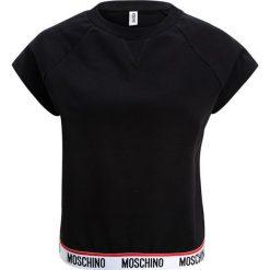T-shirty damskie: Moschino Underwear BASIC SHORT SLEEVE SWEATSHIRT Koszulka do spania black