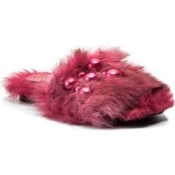 Chodaki damskie: Klapki HEGO'S MILANO - 1039 Fur Fuxia
