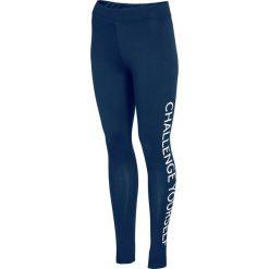 Damskie legginsy sportowe 4F Challenge Blue. Niebieskie legginsy we wzory Astratex, s, z bawełny. Za 96,99 zł.