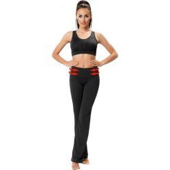Odzież sportowa damska: Gwinner Spodnie damskie Shape&Slim Pants CLIMAline czarne r. L