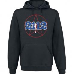 Rush 2112 Bluza z kapturem czarny. Czarne bluzy męskie rozpinane Rush, l, z nadrukiem, z kapturem. Za 164,90 zł.