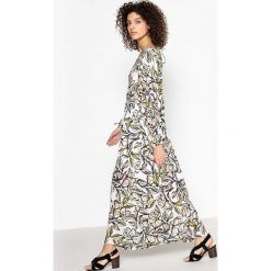 Długie sukienki: Długa sukienka z nadrukiem CAROLINE