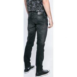 Hilfiger Denim - Jeansy Scanton. Szare jeansy męskie slim Hilfiger Denim, z bawełny. W wyprzedaży za 379,90 zł.