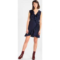 Sukienki hiszpanki: Bardot LAYERED FRILL DRESS Sukienka koktajlowa navy