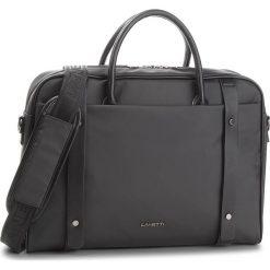 Torba na laptopa LANETTI - RM0621 Black. Czarne torby na laptopa marki Lanetti, z materiału. W wyprzedaży za 119,99 zł.