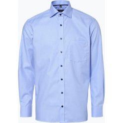 Koszule męskie na spinki: Eterna Modern Fit - Koszula męska, niebieski